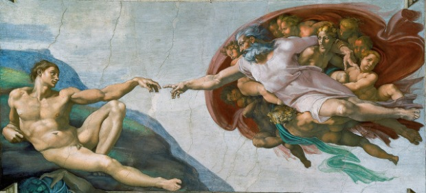 Michelangelo's Adam