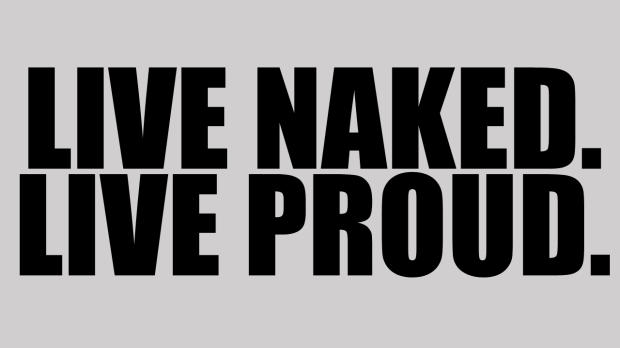 live naked live proud